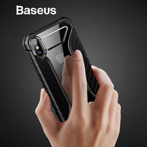Baseus For iPhone Xs Case Durable Tire Pattern Soft Silicone Case For iPhone Xs Xs Max XR 2018 Phone Accessories Cover