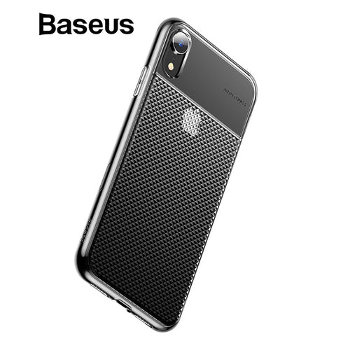 Baseus Crystal Soft Silicone Case For iPhone XR Ultra Thin TPU Back Cover For iPhone XR 6.1 2018 Phone Cases