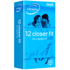 ANSELL LIFESTYLES CLOSER FIT CONDOMS