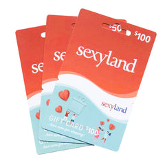 SEXYLAND GIFT VOUCHERS - INSTORE USE