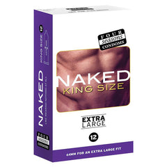 FOUR SEASONS NAKED KING SIZE CONDOMS