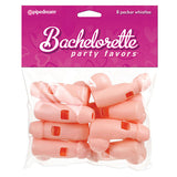 BACHELORETTE PARTY FAVORS PECKER WHISTLES FLESH