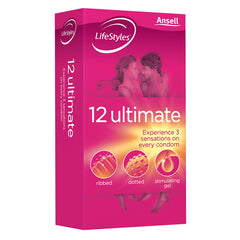 ANSELL LIFESTYLES 12 ULTIMATE CONDOMS