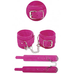 FETISH FANTASY PINK ANKLE CUFFS