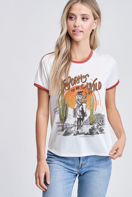 Born to be Wild Vintage Top