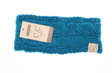 Load image into Gallery viewer, Kids Solid Cable Knit CC Head Wrap