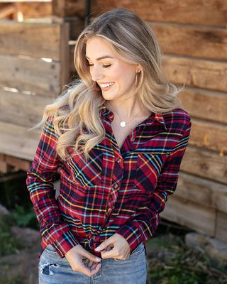 Aberdeen Flannel Plaid Shirt
