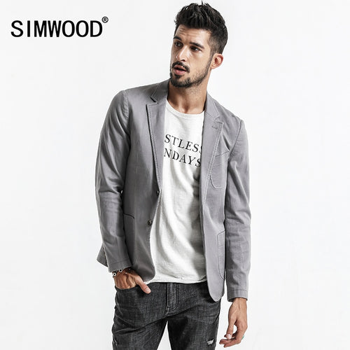 Designer Blazers Men Fashion Knitted Suit Men's Casual Slim Fit Blazer Jacket For Men - Mizta Defiant