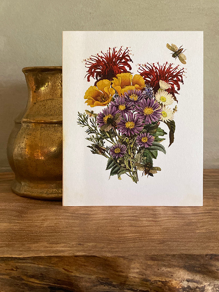 Bee Garden Note Card