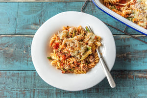 Lasagne Bake Fusilli with Spinach & Mozza