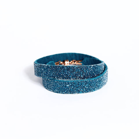 Double Bangle Azure Moonlight