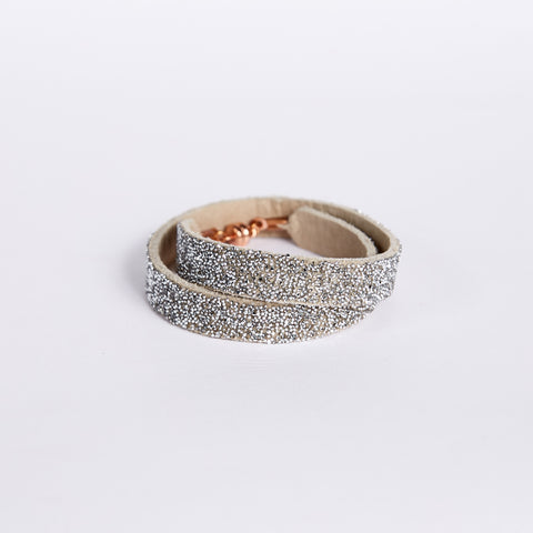 Double Bangle Sand Crystal