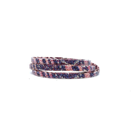 Triple Cotton Stripe Bordeaux Moonlight