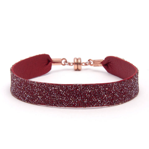 Bangle Red Gold