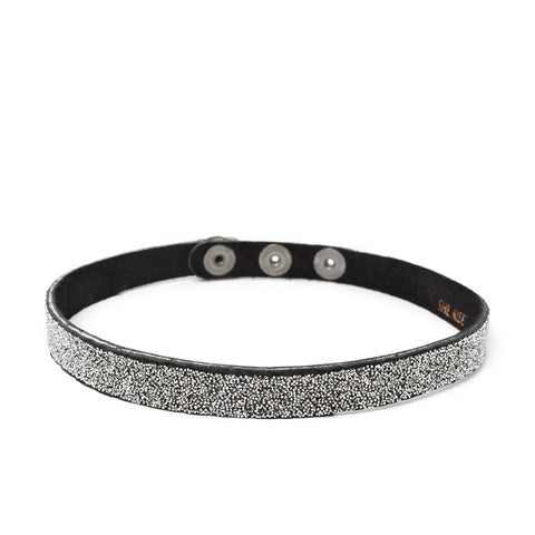 Choker Black Crystal