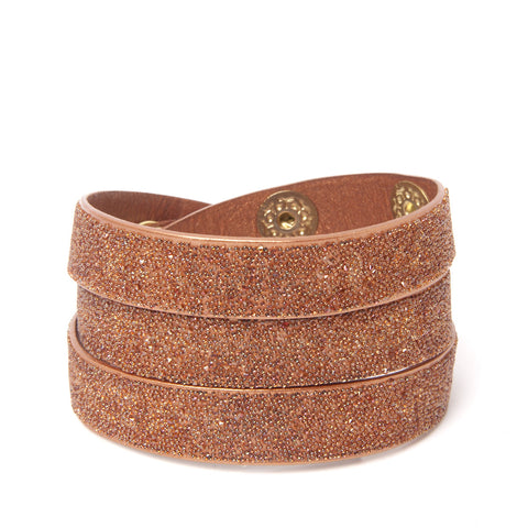 Triple Wrap Cuff Copper