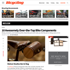 Bicycling Magazine 10 Awesomely Over-the-Top Bike Components