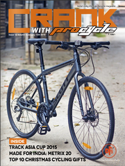 CRANK India's only bicycle lifestyle magazine