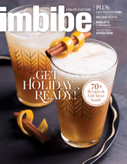 Imbibe Magazine Featuring Walnut's Whiskey Case