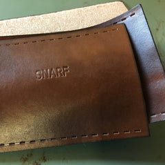 Monogrammed Bicycle Handlebar Wraps with Longer Message SNARF