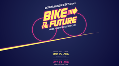 Bike to the Future is a joint effort of Design Museum Gent and the IMF Foundation curated by Thomas Blanco Wittouck and Elisabetta Pisu