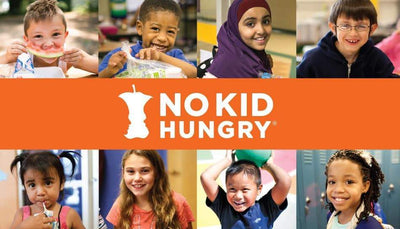 """No Kid Hungry"" Fundraiser Bandana"