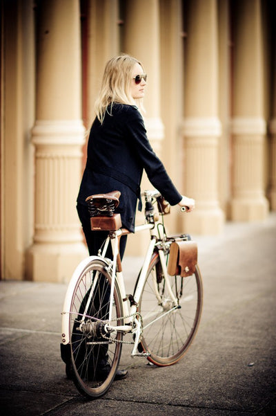 Walnut Studiolo Bicycle Accessories Boxy Saddle Bag