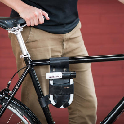 Walnut Studiolo Bicycle Accessories U-Lock Holster - Frame-Mounted - for Krypto Mini-Evo 5 Lock