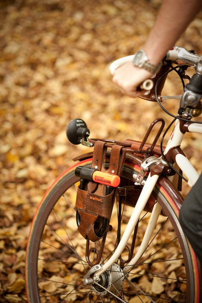 Walnut Studiolo Bicycle Accessories U-Lock Holster - Rack-Mounted - for Krypto Mini-Evo 5 Lock