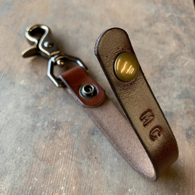Walnut Studiolo Home and Office Keychain Lanyard