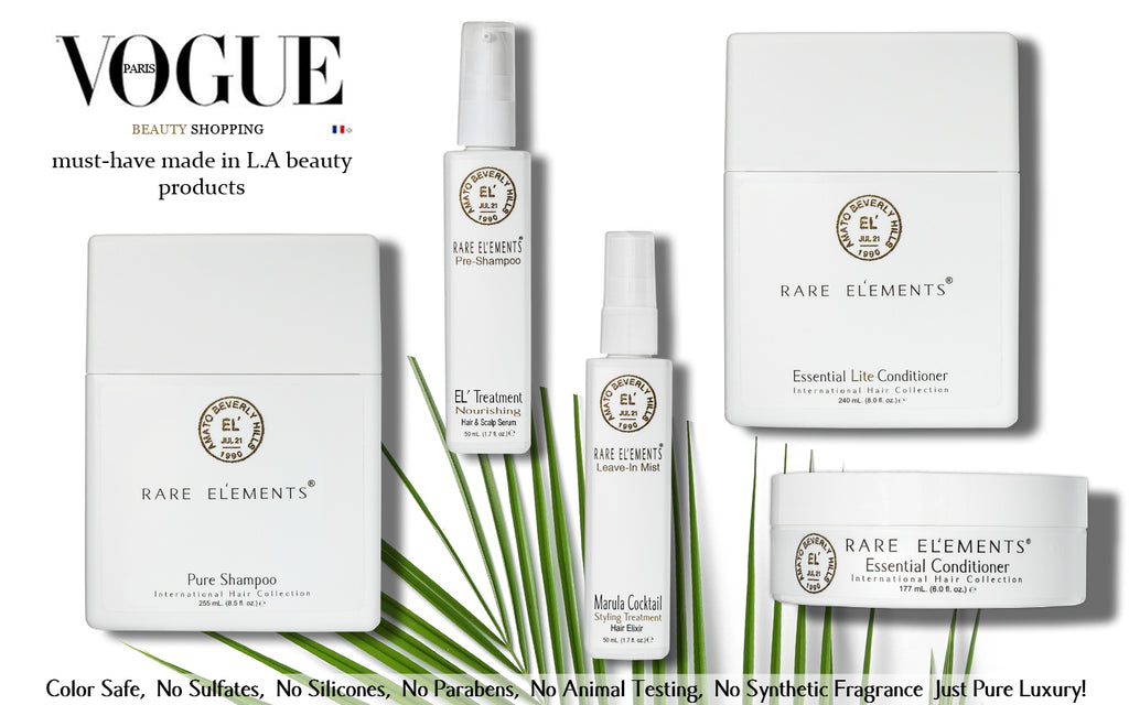 Vogue Rare Elements must have products