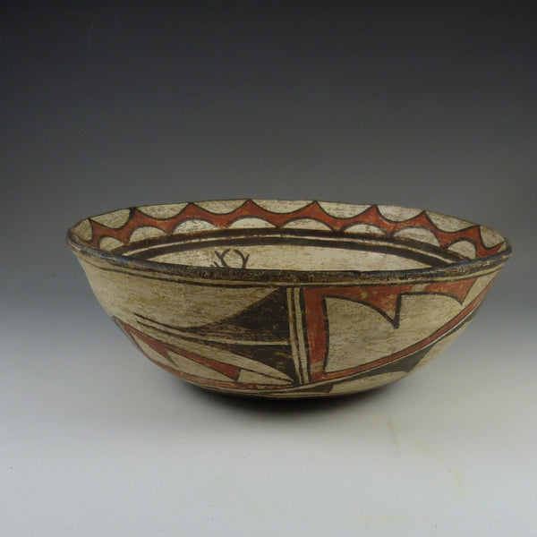 Zuni Polychrome Bowl c. 1910