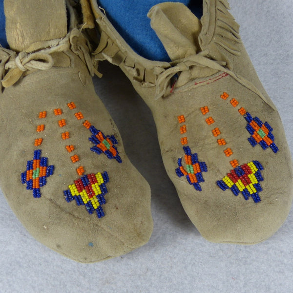 Kootenai Beaded Moccasins