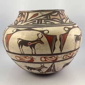 Zuni Polychrome Historic Jar