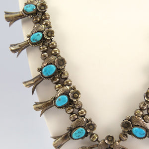 1970s Squash Blossom Necklace