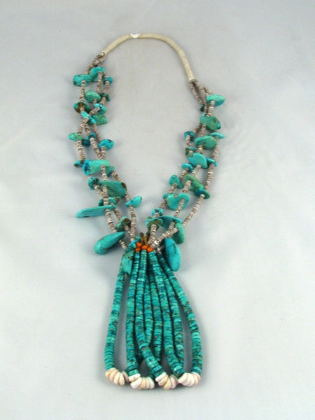 Navajo Chunk Turquoise Necklace