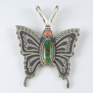 Butterfly Pin and Pendant