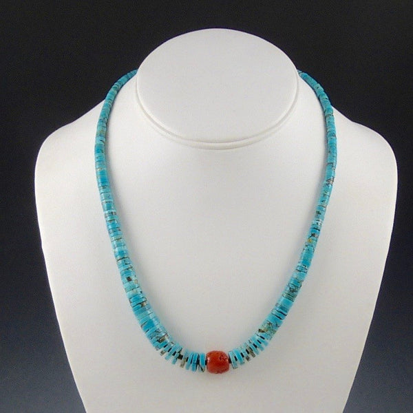 Single Strand Turquoise Necklace