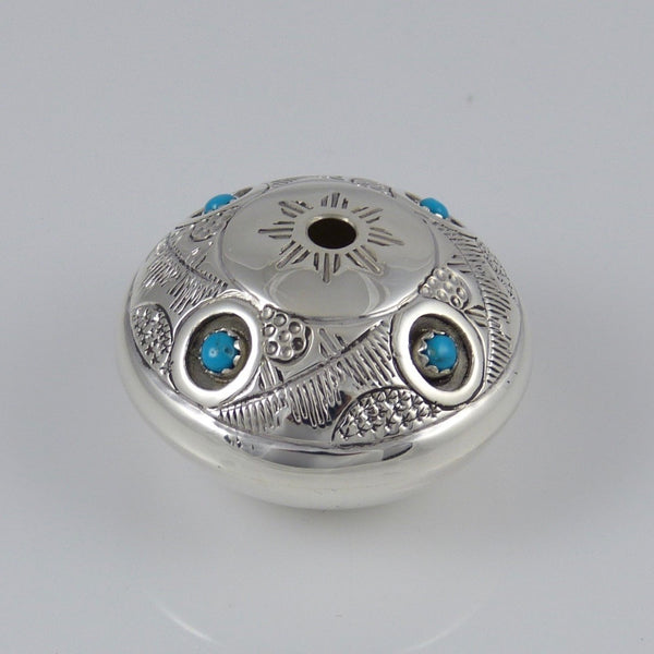Silver Seed Pot