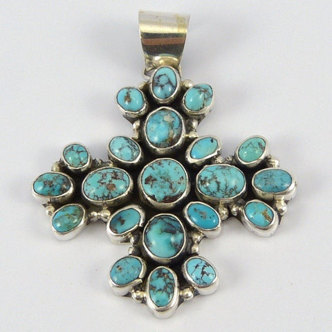 Turquoise Cluster Pendant