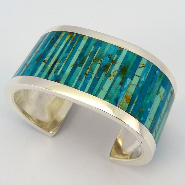 Turquoise Inlay Cuf