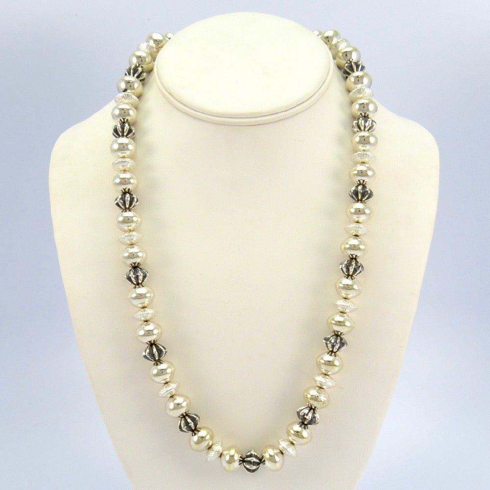 product ball bead vintage img sterling hottest celebrity trend silver necklace