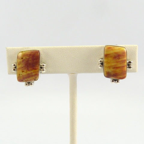 Spiny Oyster Clip Earrings