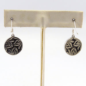 Lapis Spirit Medallion Earrings