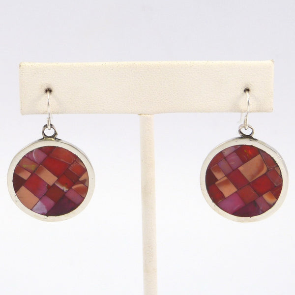 Opal Inlay Earrings