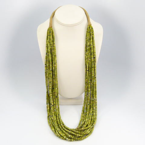 Serpentine Bead Necklace