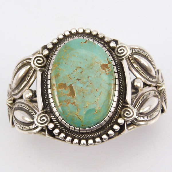 Turquoise Mountain Turquoise Cuff