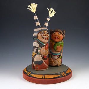 Clown and Mana Kachina