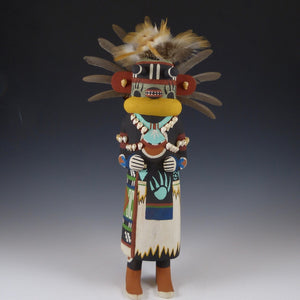 Large Blue Bear Kachina
