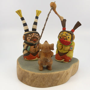 Clown Kachinas